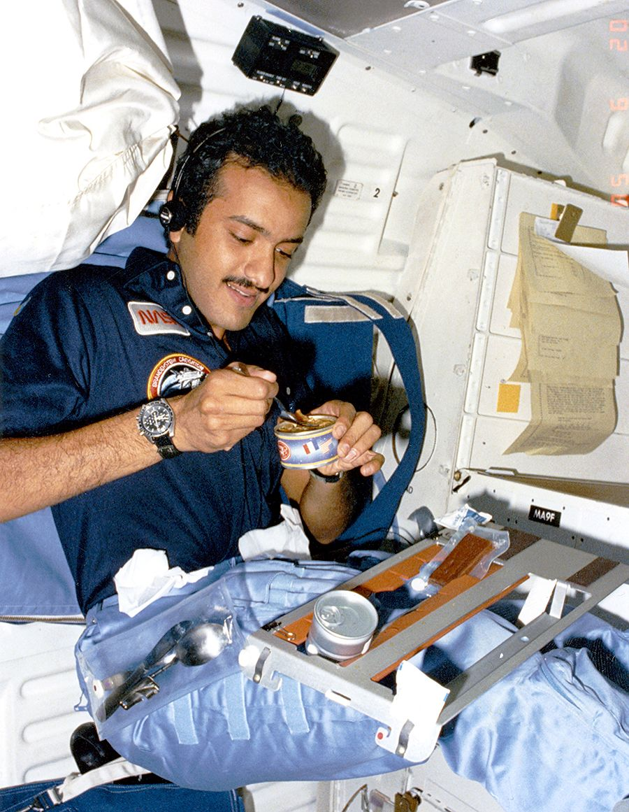 saudi prince remembers his space mission